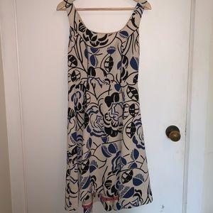 Anthropologie Vanessa Virginia floral midi dress